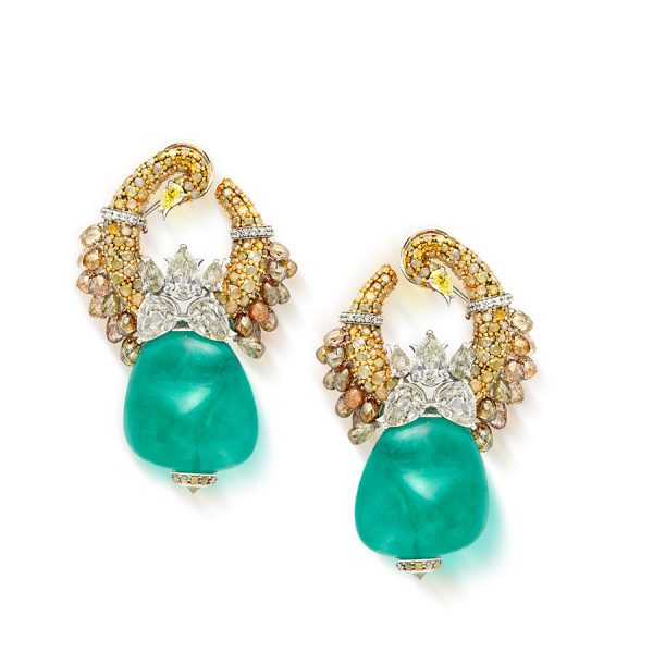 Mewar Hansli Earrings