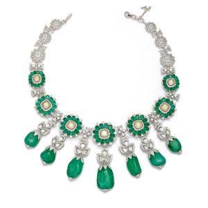 Marquis De Chartreuse Emerald Necklace