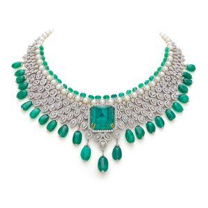 Signature Emerald & Diamond Necklace