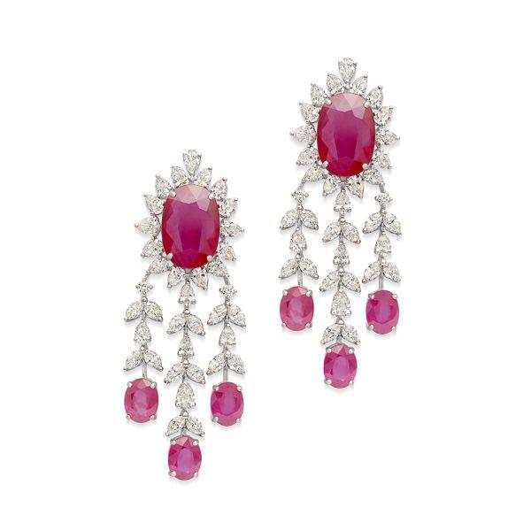Designer Luxury Diamond Earrings For Women