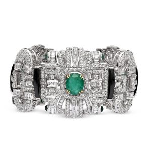 Art Deco Statement Bracelet