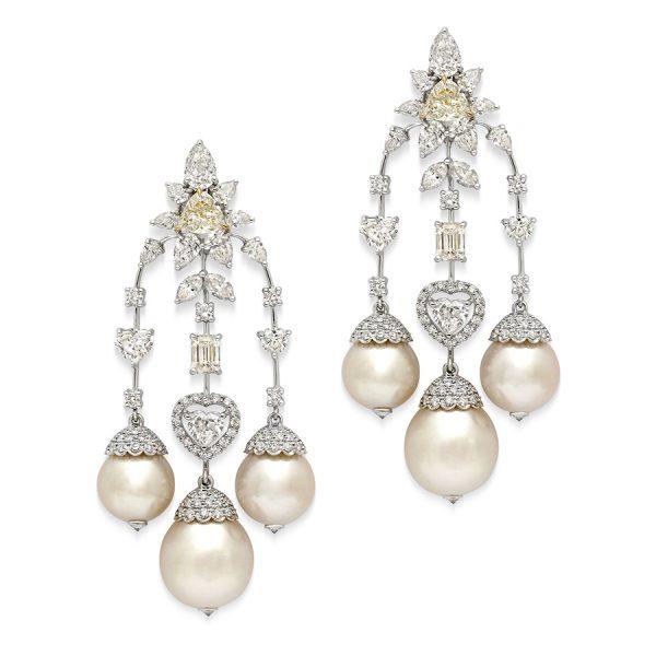 Canary Keshi Earrings