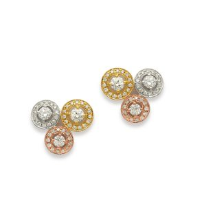Classic Trilogy Stud Earrings