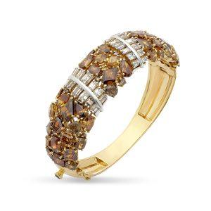 Cognac Diamond Bracelet
