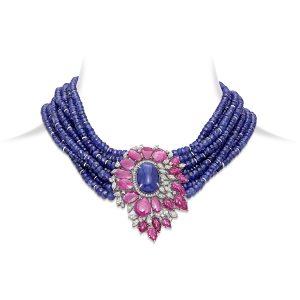 Floral Bouquet Necklace