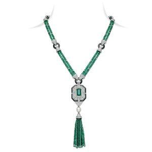 Emerald Flair Sautoir
