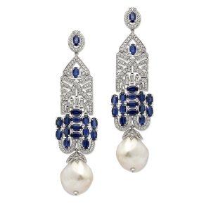 Great Gatsby Diamond Earrings