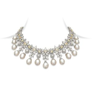 Canary Keshi Necklace