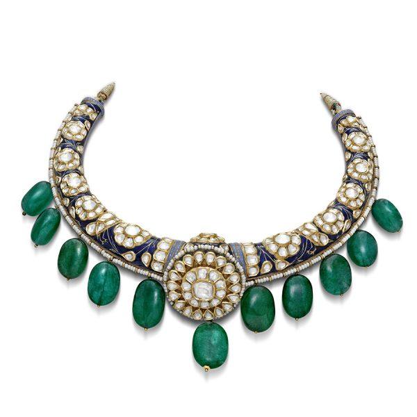 Gulabo Hansli Necklace and Earrings set