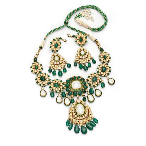 Emerald Jadau Set