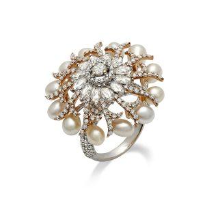 Spiral Reef Ring