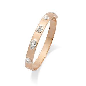 Daily wear diamond Clicque Bracelet