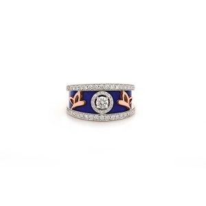 Butterfly Slim Band Ring