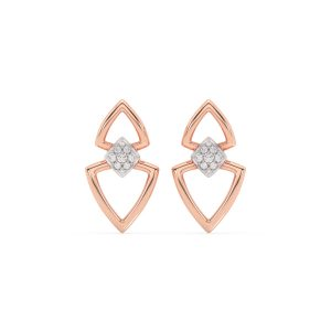 Triangle Diamond Earrings