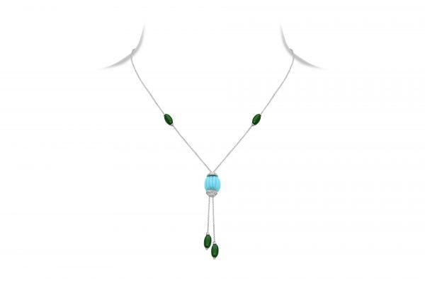 Diamond Sautoir Necklace For Women