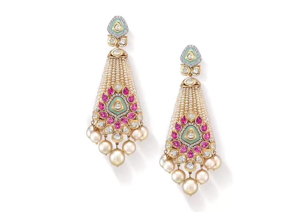 Pearl Raj Kumari Earrings