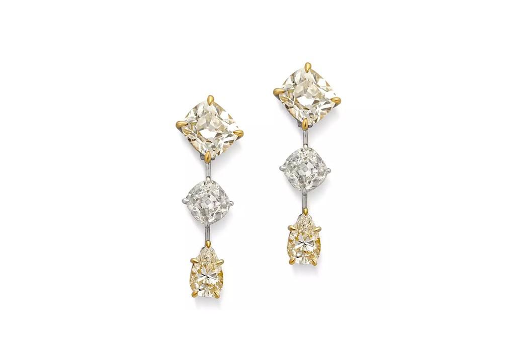 Sultana Diamond Earrings