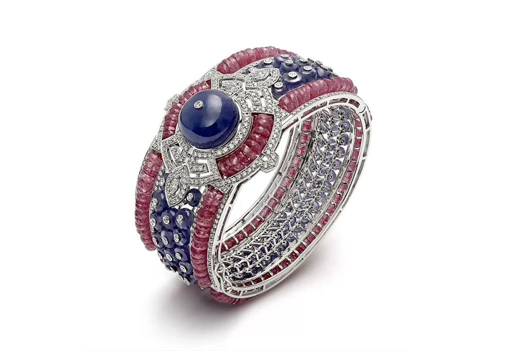 Greco Art Deco Cuff Bracelet