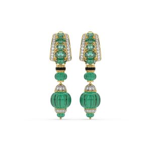 Tanzanite Emerald Earrings