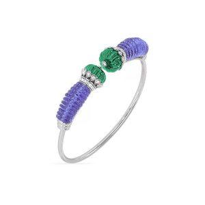 Chalcedony Tanzanite Bracelet