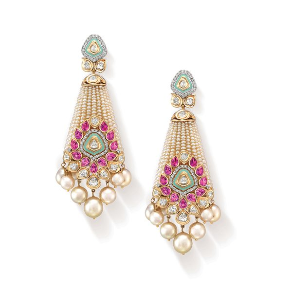 Pearl Raj Kumari Earrings